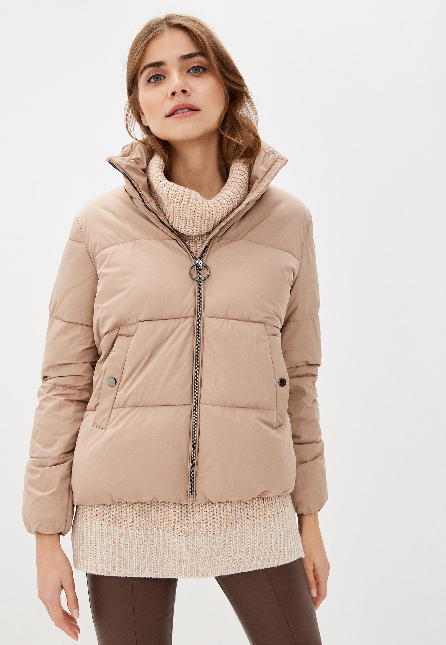 Куртка утепленная Zolla купить за 2 499 ₽ в интернет-магазине Lamoda.ru